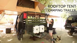 getlinkyoutube.com-Our Rooftop Tent Camping Trailer