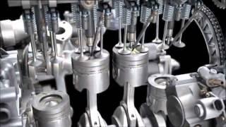 getlinkyoutube.com-Mercedes-Benz OM 651 4-cylinder Diesel engine
