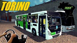 getlinkyoutube.com-EURO TRUCK SIMULATOR 2 - ONIBUS  URBANO TORINO, MAPA RBR, VOLANTE G27!!!!