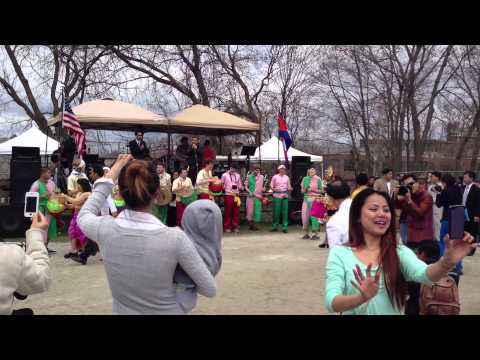 Cambodian American Chayam parade. This Chayam parade was on April 13, 2013 in Lowell, MA.