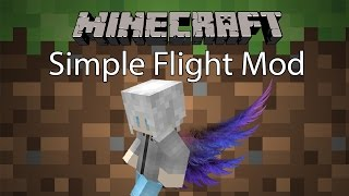getlinkyoutube.com-Minecraft Mod รีวิว - Mod บิน | Simple Flight Mod