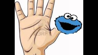 getlinkyoutube.com-Sesame Street Finger Family 2015 Daddy Finger Nursey Rhyme 4K