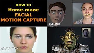 HOW TO - Homemade  Facial Motion Capture