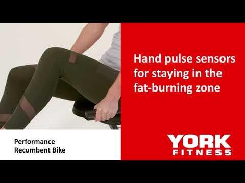 York Performance Recumbent Exercise Bike