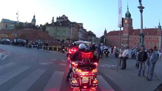 getlinkyoutube.com-Ford Mustang Honda Goldwing Warsaw race