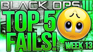 Call of Duty Black Ops 3 - Top 5 FAILS of the Week #13 - GLITCH INTO 360 NO SCOPE! (BO3 Top 5 Fails)