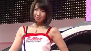 getlinkyoutube.com-東京オートサロン2016 コンパニオン(28):B-Max Racing team(ビーマックスレーシングチーム)