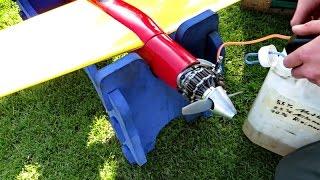 getlinkyoutube.com-RC Stinger 40 mit Wankelmotor Pylon Speeder Pylonracer , Flight Demonstration *HD*