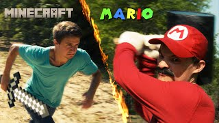 getlinkyoutube.com-Mario vs Minecraft