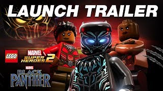 LEGO Marvel Super Heroes 2 - Black Panther Trailer