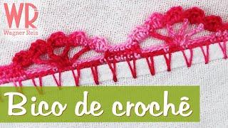 getlinkyoutube.com-Bico de crochê fácil e completo para iniciante #7