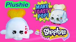 getlinkyoutube.com-DIY Shopkins Season 2 Toasty POP Plushie TOY Craft Make & Do It Your Self How To Video Cookieswirlc
