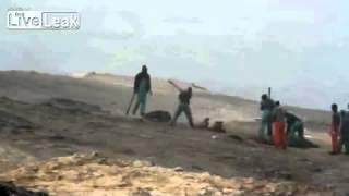 getlinkyoutube.com-crazy amazing shocking live cam 74 Horror Of Namibia Seal Baby Cull
