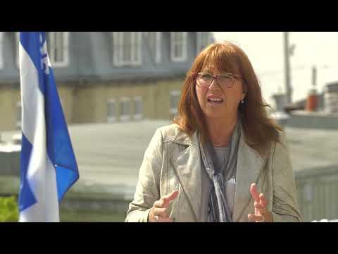 Caroline Desbiens veut poursuivre son travail au service de la population