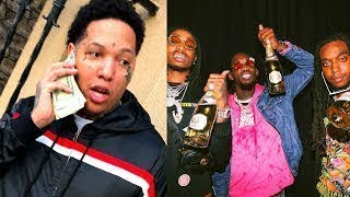 King Yella Goes off on Ppl Not Bailing him out for $12K even tho he signed w/ Mayeather for $1 mil
