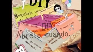 "getlinkyoutube.com-""Ábrelo Cuando"" DIY ❤️"