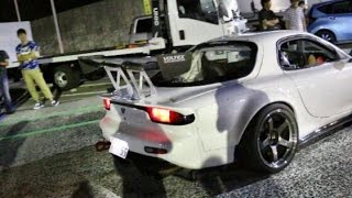 getlinkyoutube.com-4ローター RX7 加速サウンド 4rotor FD3S acceleration sound.