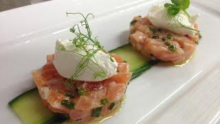 getlinkyoutube.com-How to Make Salmon Tartare