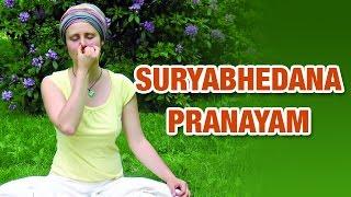 getlinkyoutube.com-Surya Bhedana Pranayama   Right Nostril Breathing   Yoga For Beginners
