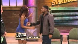 getlinkyoutube.com-You're A Girl? (The Jerry Springer Show)