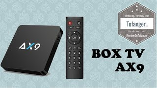TV BOX AX9 Android TV