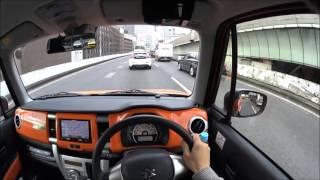 getlinkyoutube.com-スズキ ハスラー首都高 C1試乗 | Suzuki Hustler Tokyo Expressway POV Drive