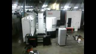 getlinkyoutube.com-Mazak HCN 6800 w/ Palletech 12 pallet loader (2014)