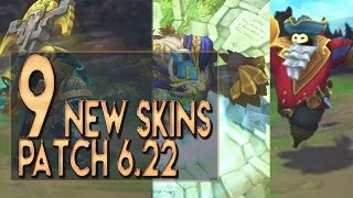 getlinkyoutube.com-9 ALL NEW SKINS PRE-SEASON 7 Patch 6.22 - League of Legends (Victorious, RPG, Worldbreaker)