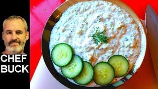 Best Tzatziki Sauce Recipe ...Greek cucumber yogurt dressing
