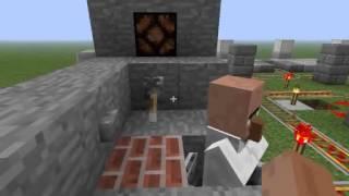 getlinkyoutube.com-【Minecraft】村人分別装置作ってみた