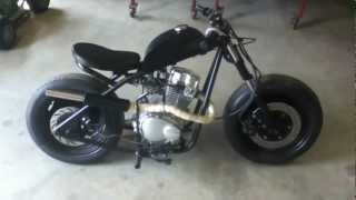 getlinkyoutube.com-Home Built Mini Bobber Bike