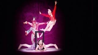 英国ロイヤル バレエ団「不思議の国のアリス」の舞台裏の画像