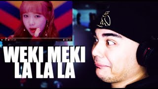 Weki Meki - LA LA LA MV Reaction