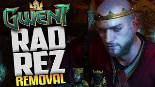 getlinkyoutube.com-Gwent Gameplay - Northern Realms Radovid Rez & Removal Deck - Livestream Footage Gwent Closed Beta