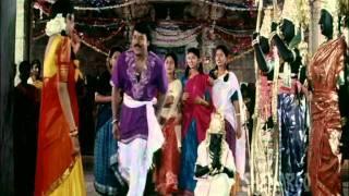 getlinkyoutube.com-Alluda Majaka Telugu Movie Songs - Maa Voori Devudu Song - Chiranjeevi   Ramya Krishna   Rambha