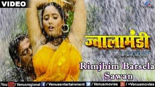 Rimjhim Barsela Sawan Full Video Song | Jwala Mandi- Ek Prem Kahani | Ravi Kishan & Rani Chaterjee