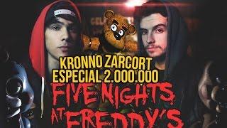 getlinkyoutube.com-FIVE NIGHTS AT FREDDY'S RAP | 2 MILLONES | ZARCORT Y KRONNO