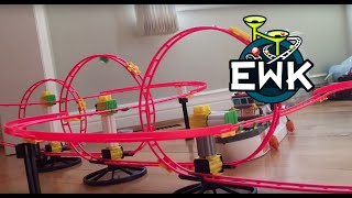getlinkyoutube.com-Epic Kitchen Marble Run (16000 sub special)