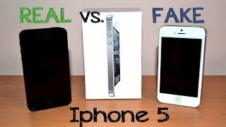 getlinkyoutube.com-Real vs Fake Iphone 5 / SE - Best 1:1 Copy - China clone - Full Review [HD]