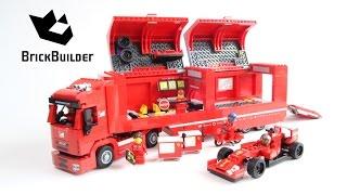 getlinkyoutube.com-Lego Speed Champions 75913 F14 T & Scuderia Ferrari Truck - Lego Speed build