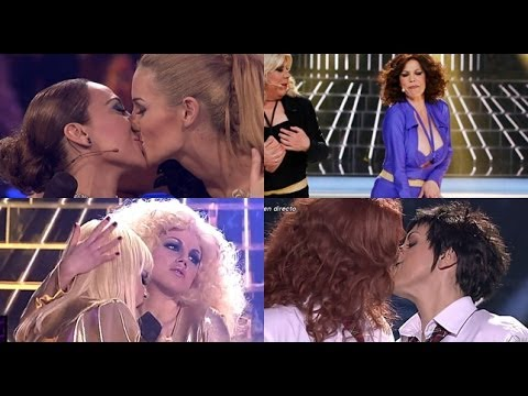 Tu cara me suena - Edurne, Mónica, Llum y Toñy suben la temperatura en una gala llena de besos