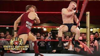 getlinkyoutube.com-Pete Dunne attacks Tyler Bate before their Finals showdown: WWE United Kingdom Tournament