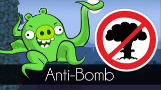 Bad Piggies - ANTI BOMB EXPERIMENT (Field of Dreams)