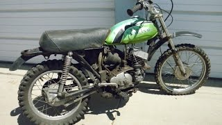 The $25 bike, Kawasaki MC1 M 90cc