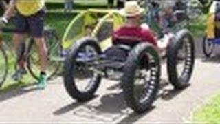 getlinkyoutube.com-Fatbike Custom Catrike/Surly Pedal Quad Recumbant