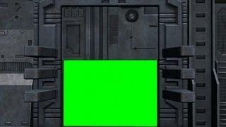 getlinkyoutube.com-space door animation 2 - green screen