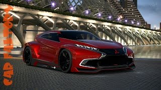getlinkyoutube.com-MITSUBISHI XR PHEV EVOLUTION | Vision Gran Turismo | Overview, Up Close - ON THE TRACK!!!