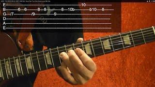 GUNS N' ROSES - SWEET CHILD O' MINE - Solo - Guitar Lesson - Easy!