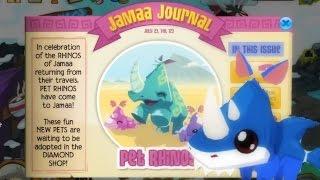 getlinkyoutube.com-Animal Jam: Updates - Beta Party! & Rhino Shark ♥