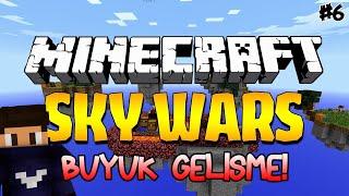 getlinkyoutube.com-GELİŞME BÜYÜK! - Minecraft Sky Wars - Kit Çıkarma Denemeleri